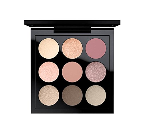Eyes On MAC Solar Glow Times Nine Eyeshadow Palette Solar Gl
