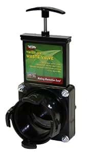 Valterra T58 Twist-On Waste Valve