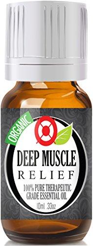 Deep Muscle Relief (органическая) 100% Pure, лучших лечебно-Grade Эфирные масла - 10 мл (сравнимо с PanAway Blend, DoTerra в Deep Blue & Young Living в)