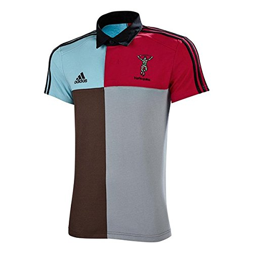 Harlequins 2015/16 Retro Supporters Rugby Shirt adidas