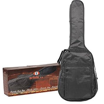 Ortola - Funda Guitarra Electrica Ref.23-E Con Caja, Negro: Amazon ...