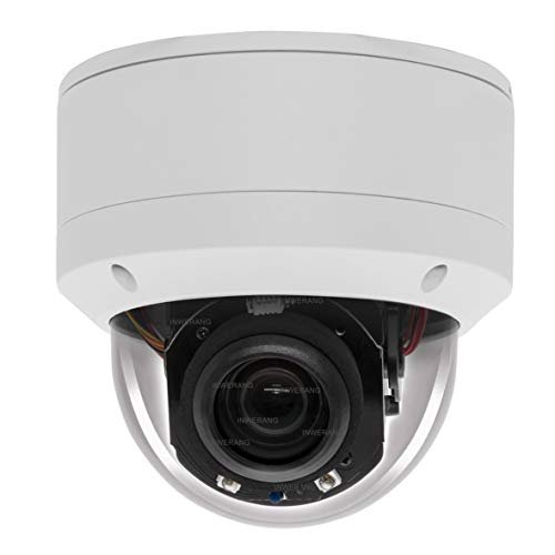 Inwerang CCTV Camera,Mini IR PTZ Dome Camera 2MP HD Analog 5X Zoom(2.7-13.5mm AF Lens) 98ft IR Night Vision, Outdoor 1080P PTZ Security Camera IP66 Waterproof AHD/TVI/CVI/CVBS 4in1 RS485&UTC Control