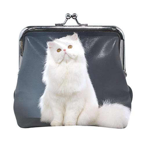 Coin Purse White Cat Womens Wallet Clutch Bag Girls Small Purse ca76eac6f027f