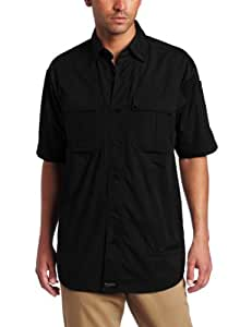 Blackhawk Men's Short Sleeve Lightweight Tactical Shirt (Black, Small)