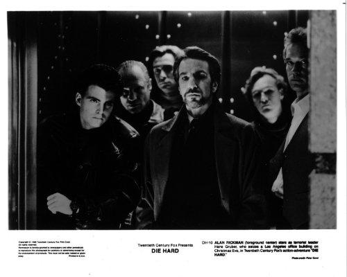 Alan Rickman Die Hard original 8x10 glossy photo F9200 ()