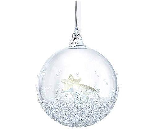 Swarovski Christmas Ball Ornament, Multi Colour Crystal, A.E. 2018, 9.9x 80x 80mm from £ 0.68p a