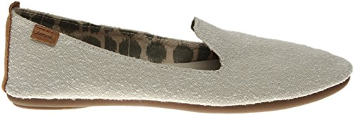 Sanuk Casual Shoes Womens Piper Canvas Rubber Sole Slip on 1015630 Natural fJ6bJY