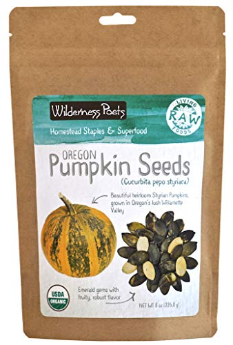 Wilderness Poets Oregon Grown Pumpkin Seeds - Organic, Heirloom, Raw (800 Ounce - 50 Pound) by Wilderness Poets (Image #1)