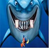 Got You Covered Fish are friends, not food. Bruce finding Nemo Light Switch Cover or Outlet (2x Toggle)