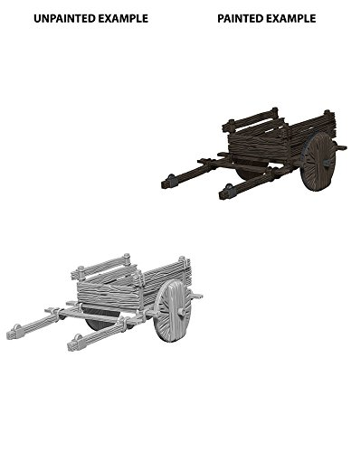 Wizkids Deep Cuts Two Wheeled Cart Fantasy Miniature (for 25-28mm miniatures) WZK73096