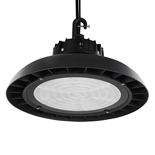 Airand UFO LED High Bay Light 150W 17200lm 5000K Daylight White Energy-Saving Dimmable Hanging Light IP65 Waterproof Lamp for Industrial Warehouse Workshop Supermarket CE FCC UL - Shipping Expressway