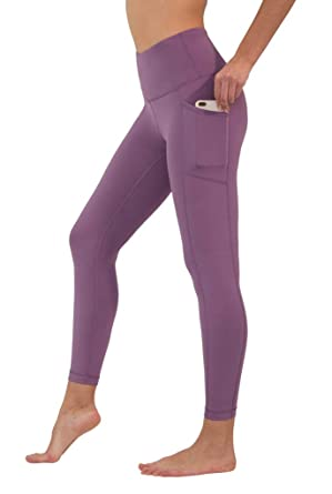 df96875c00b5c 90 Degree By Reflex High Waist Tummy Control Interlink Squat Proof Ankle  Length Leggings - African