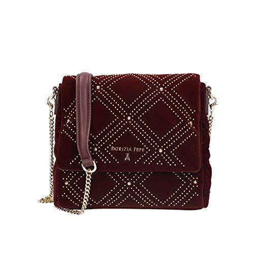 Shoulder bag Bordeaux 2v7340 Patrizia Pepe a4m1 Women wnq8w17xgt