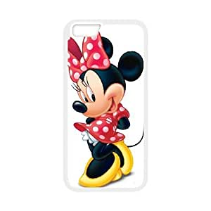iphone6 4.7 inch case , Minnie Mouse iphone6 4.7 inch Cell phone case White-YYTFG-16564