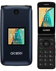 Alcatel Cingular Flip 2 4G LTE FlipPhone Bluetooth WIFI MP3 Camera Good for Elderly - GSM Unlocked (Renewed)