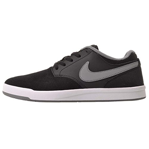 Nike Kid's SB Fokus (GS), Black / Cool - Grey - White, Youth Size 6 (Sb Shoes Youth Nike)