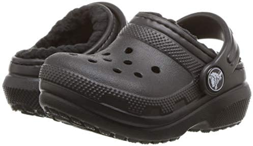 Crocs Kids Classic Lined Clog   Warm And Fuzzy Slippers