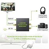LiNKFOR Digital to Analog Audio Converter DAC