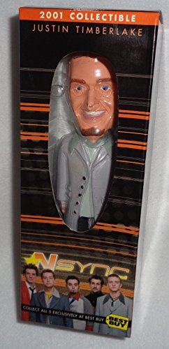 Justin Timberlake; 2001 Collectible Bobblehead; NSYNC