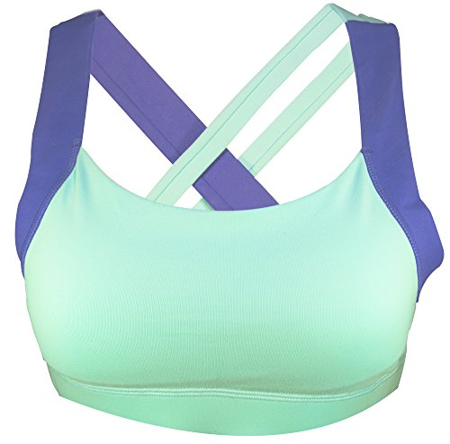 STRYK Women's Premium Active Support Yoga Crossfit Gym Synergy Sports Bra … (Medium, - Chicago Triathlon Clothing