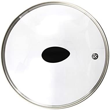 10  Earth Frying Pan Lid in Tempered Glass, by Ozeri