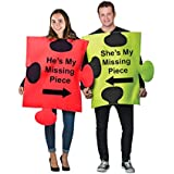 Tigerdoe Puzzle Piece Costume - Couple Costumes - Funny Adult Costumes - Novlety Costumes