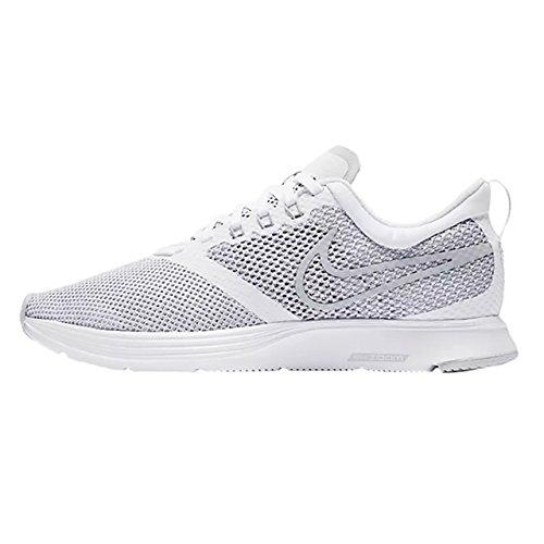 Nike Wmns Zoom Strike Donna Aj0188-100 Bianco / Lupo Grigio