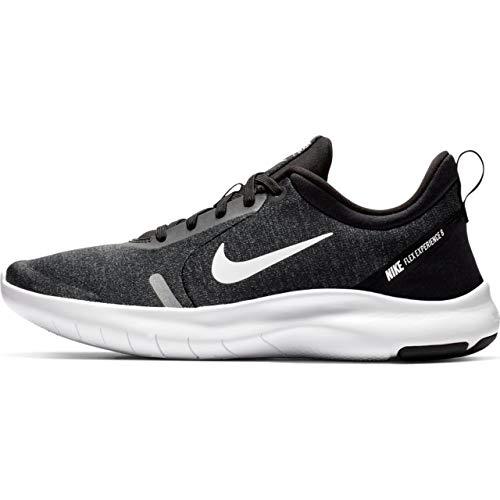 Nike Women's Flex Experience RN 8 Running Shoe Black/White/Cool Grey/Reflect Silver Size 10 M US