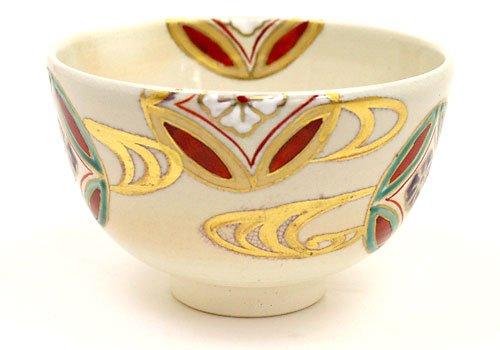 Bowl Cloisonne - Tea / tea utensils , tea cup / bowl Rikyu Cloisonne running water