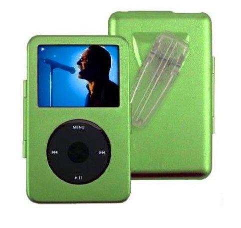 Green for Apple iPod Video 5g 5th gen 60GB 80GB Metal Hard Case
