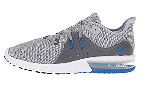 Nike Air dark Fury Max Wolf Grey Running 3 Chaussures blue De Sequent Grey Homme rrdqx7wP