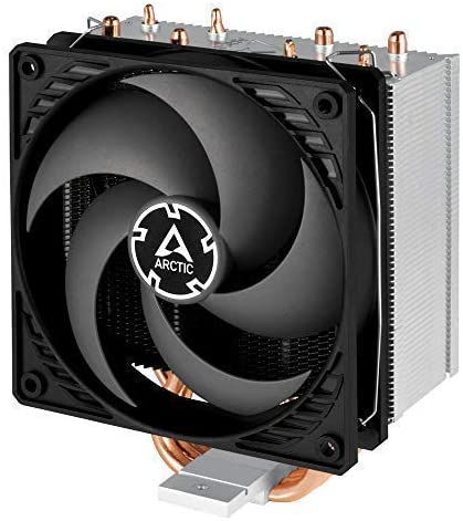 ARCTIC Freezer 34 eSports DUO Tower CPU Cooler with BioniX P-Series case fan in push-pull 120 mm PWM fan Grey//white for CPUs up to 210 Watt TDP for Intel and AMD socket
