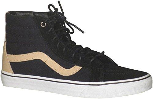 Vans Unisex Sk8-hi Ristampa (c & P) Scarpa Da Skate (veggie Tan) Nero-vero Bianco