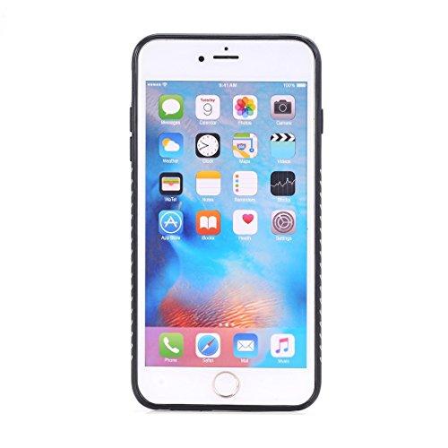 Phone Taschen & Schalen Für iPhone 6 Plus und 6s Plus Crazy Horse Textur Galvanik Rückseite ( Color : Brown )