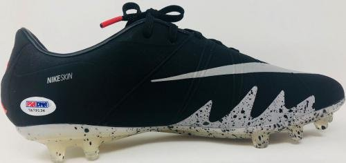 Neymar Signed Nike Jordan Soccer Cleat Brazil Barca PSG Auto COA Left PSA/DNA Certified Autographed Soccer Cleats