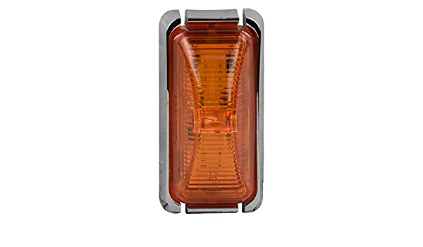 2-7//8-Inches Blazer International LT335A Amber Clearance Side Marker with Reflex