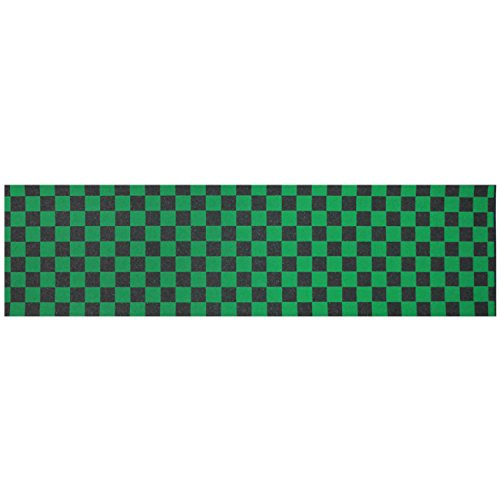 Big Boy Skateboard Checkerred Grip Tape 9 x 33 (Checkerred Green) by Big Boy