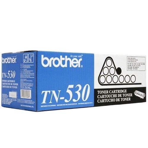 - Brother TN530 Black Original Toner Standard Yield (3,300 Yield)