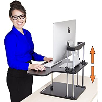 Amazoncom Stand Steady UpTrak Standing Desk Instantly Convert - Computer stand for standing at desk