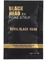 Peel Off Gezichtsmasker, 3-in-1 Mee-eter Masker met Borstel & Tea Tree Serum, Houtskool Gezichtsmasker voor Diepe Reiniging, Vuil, Poriën, Olie