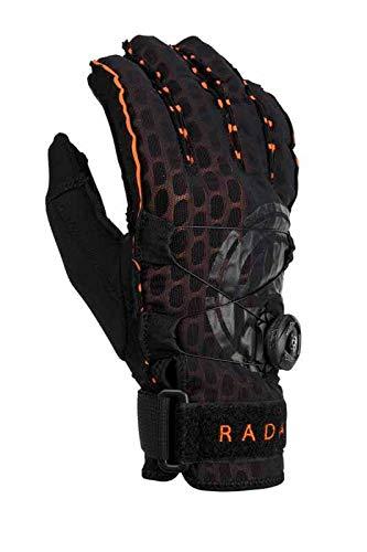 Radar Vapor A - BOA - Inside-Out Glove - Black/Orange Ariaprene - XXL