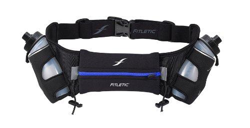 Fitletic Hiking Hydration Belt L/XL Black & Blue