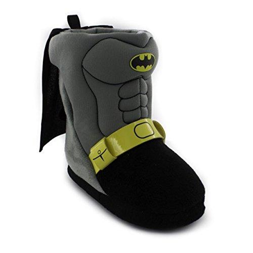 Toddler Batman Shoes (Batman Toddler Boys Caped Slipper (Large)