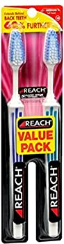 Reach, Adult Toothbrushes Advanced Design Medium, Value Pack, 2 ct