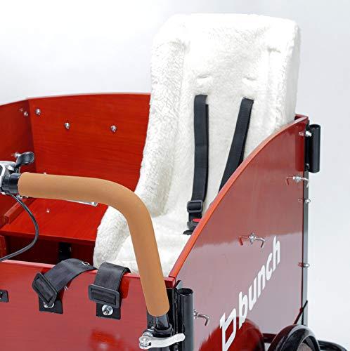 Melia Cargo Bike/Trailer Toddler Child Seat, White