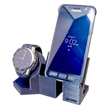 Artifex Design Stand Configured for 1st Generation TAG Heuer Connected 46MM Watch Stand, Smartwatch Cradle (1st Gen TAG Combo)