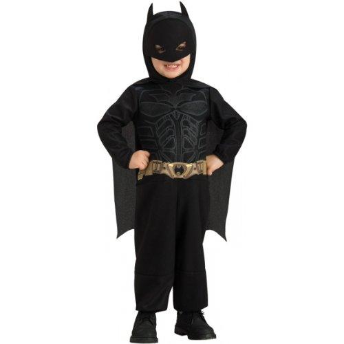 Muscle Man Legs Costume (Batman The Dark Knight Romper, Batman Print, 6-12 Months)