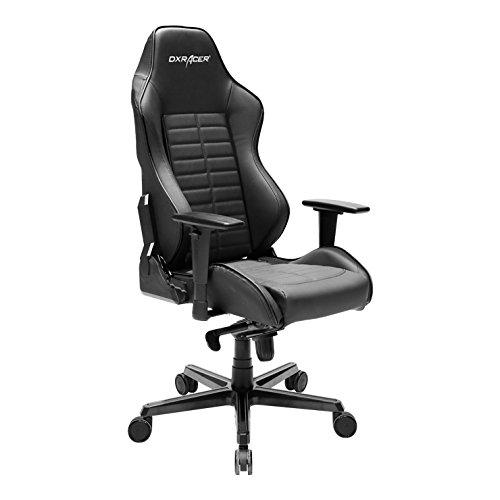 DXRacer DJ133/N Black Drifting Series Racing Bucket Seat Office Chair Gaming Ergonomic with Lumbar Support