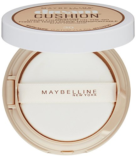 Maybelline Dream Cushion Fresh Face Liquid Foundation, Warm Nude, 0.51 oz.