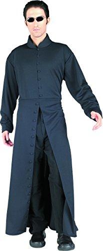 Neo Matrix Costume (Matrix Neo Adult's Large Costume Trench Coat +)